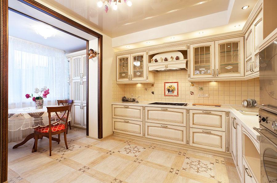 Дизайн кухни 13 кв м с лоджией 50