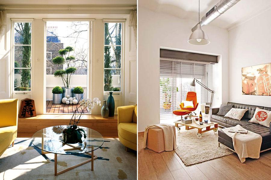 Дизайн интерьера гостиной совмещенной с балконом (фото, сове.