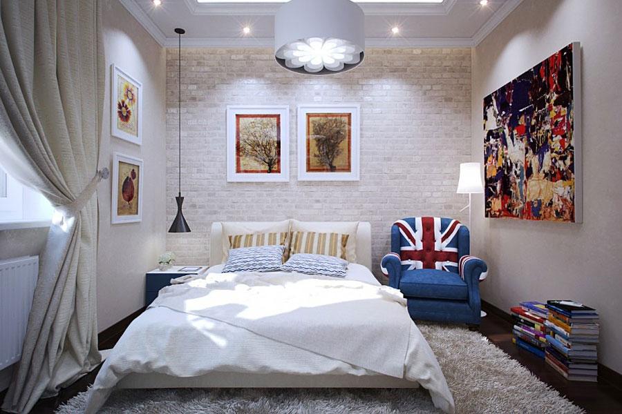 дизайн интерьера маленькой спальни арт проект г москва