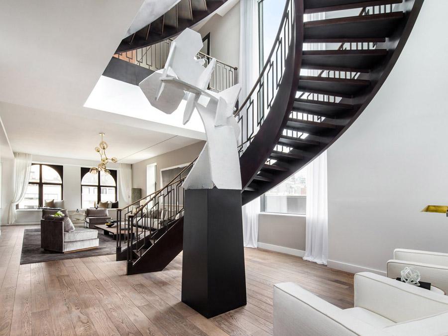 фото лестницы в интерьере