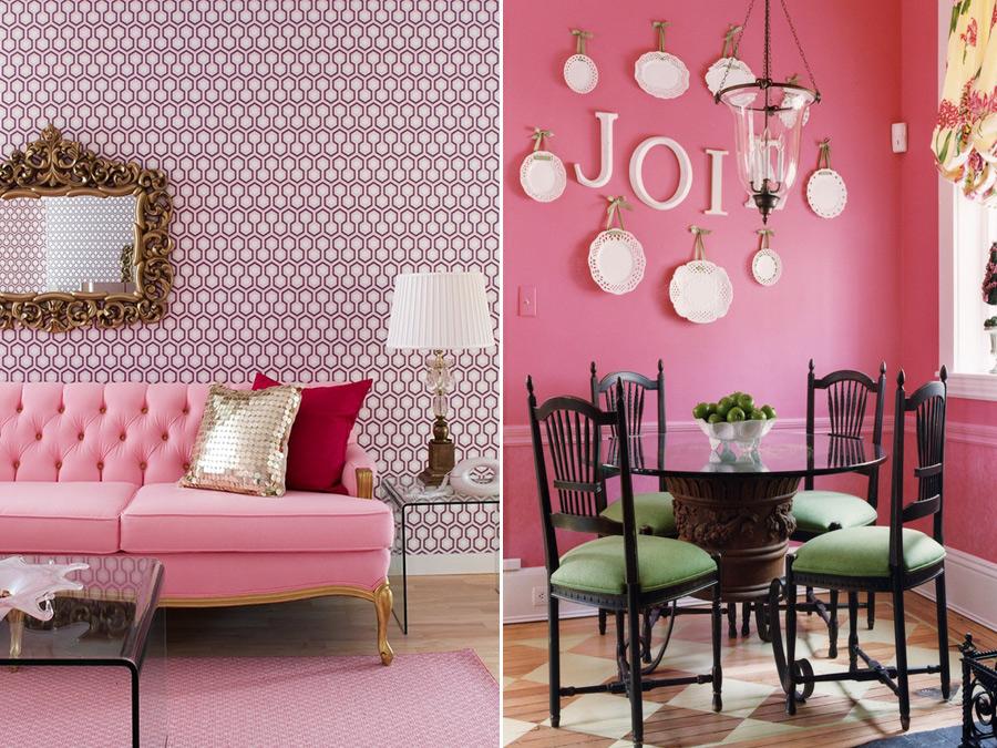 Картинки по запросу розовый цвет в интерьере