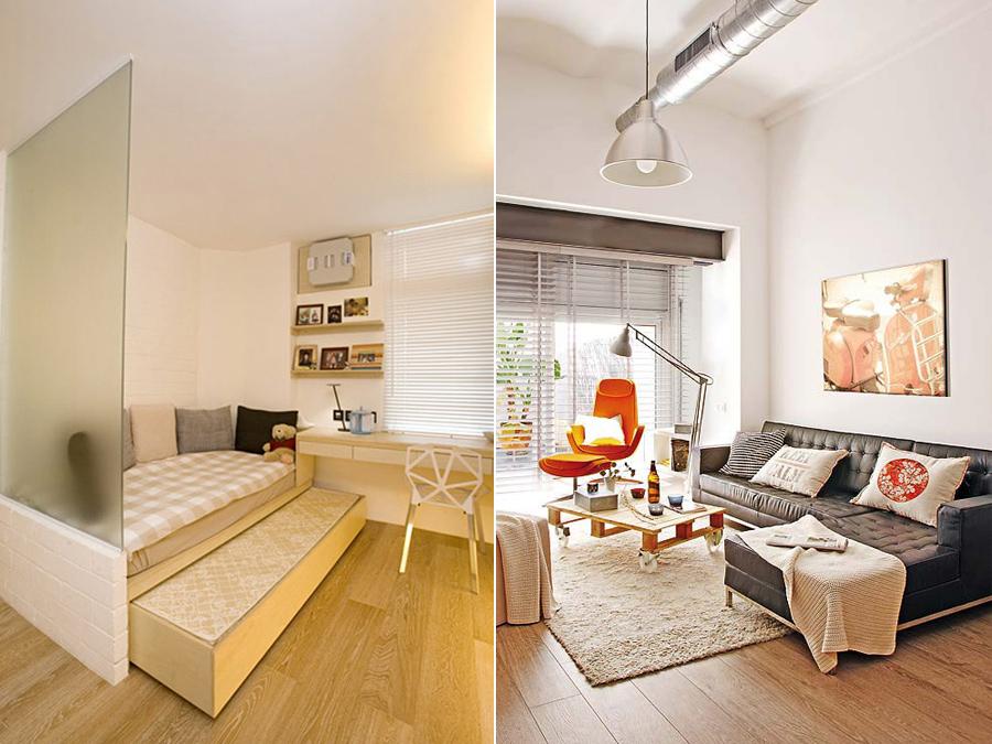 Дизайн интерьера маленьких комнат 56