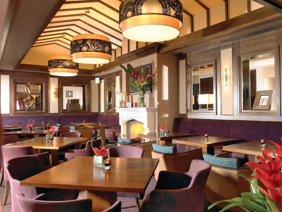 Ресторан в европейским интерьер