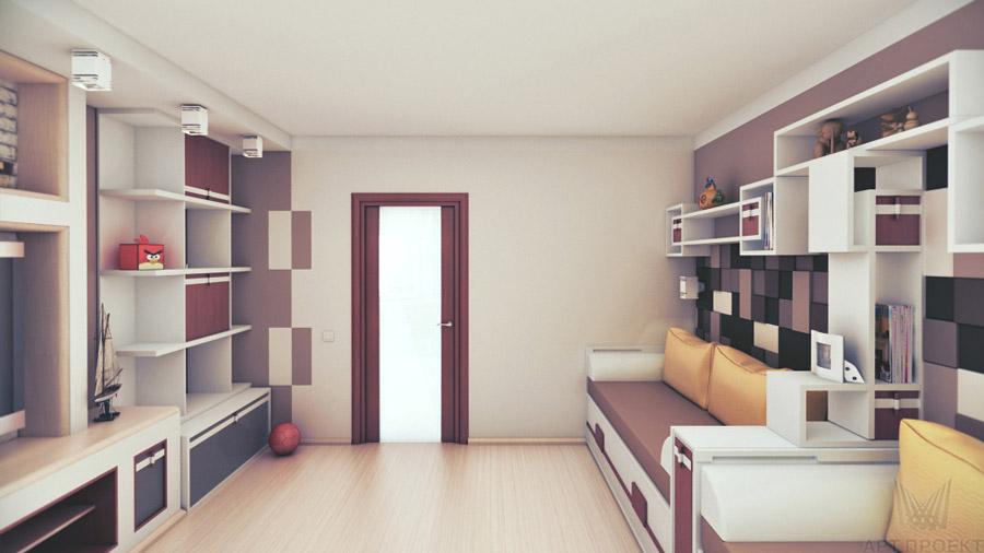 дизайн интерьера детской комнаты для двух мальчиков 20 кв м фото