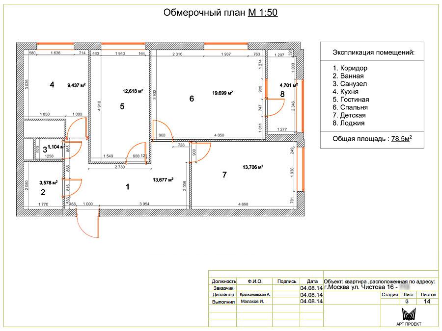 Дизайн интерьера трехкомнатной квартиры 91 кв.м для молодой .
