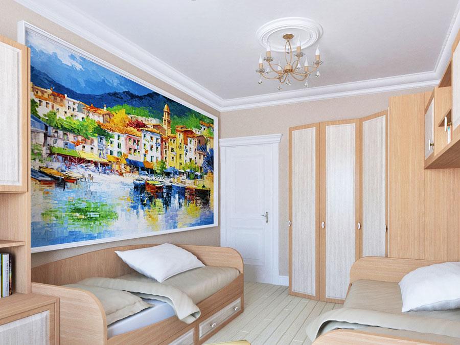 дизайн комнаты 17 кв м в двухкомнатной квартире фото