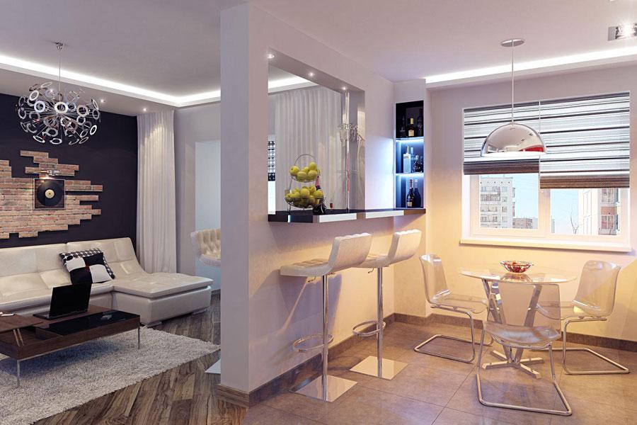Дизайн студии квартиры фото