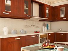 Интерьер кухни 11,3 метра в квартире 58,2 кв.м