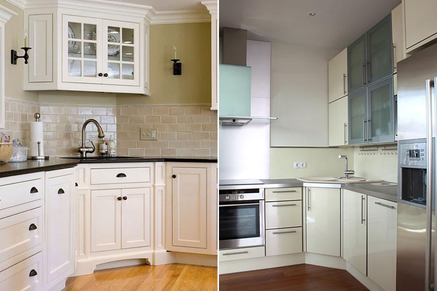 Классика и современность в интерьере кухни 9 метров