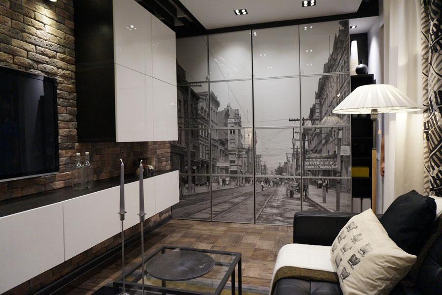 Гостиная без окон дизайн интерьера