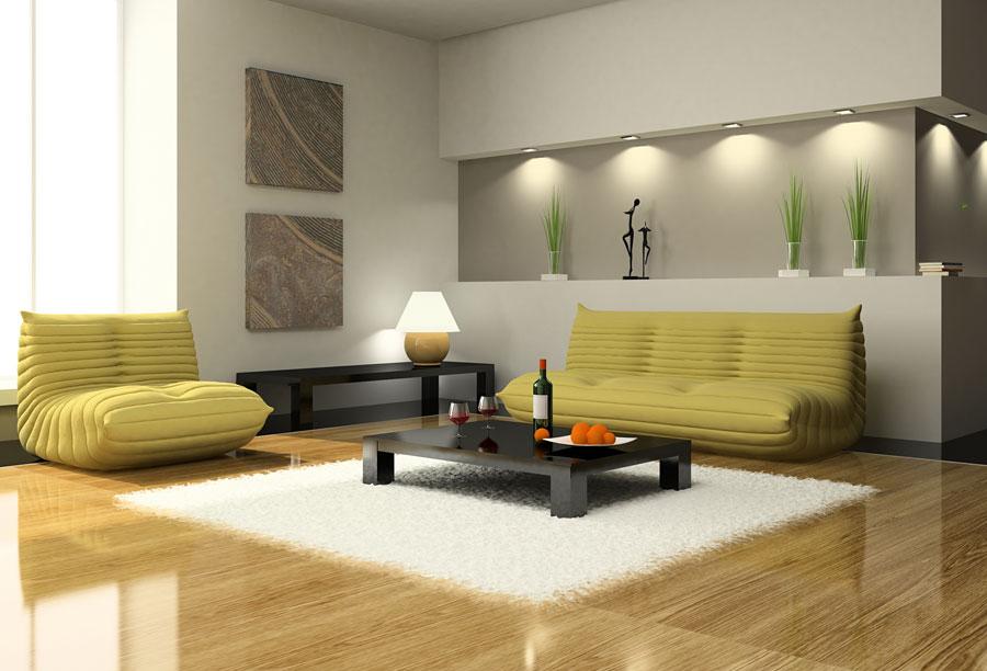 Простой дизайн интерьера - стиль минимализм