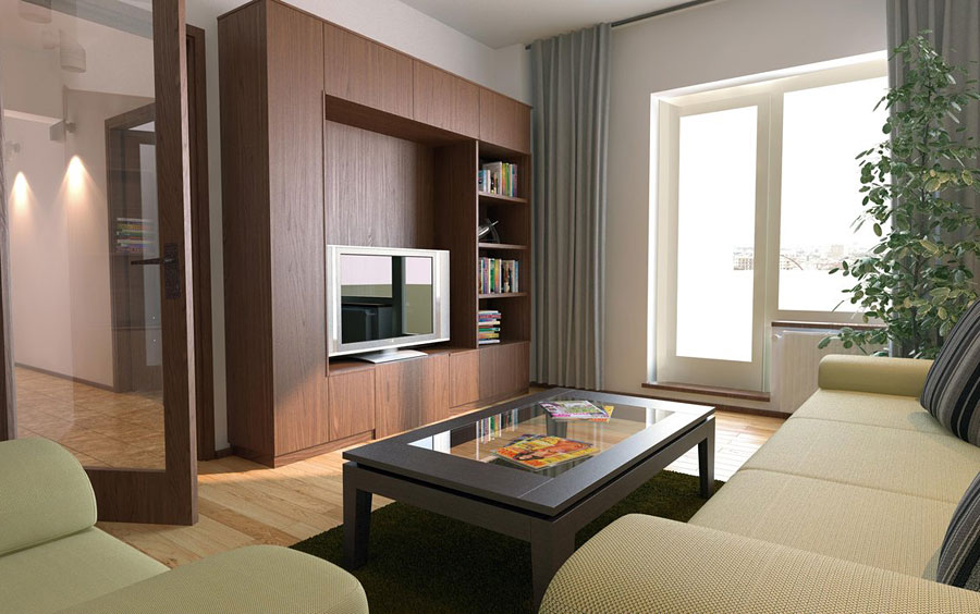 Простой дизайн квартиры+фото
