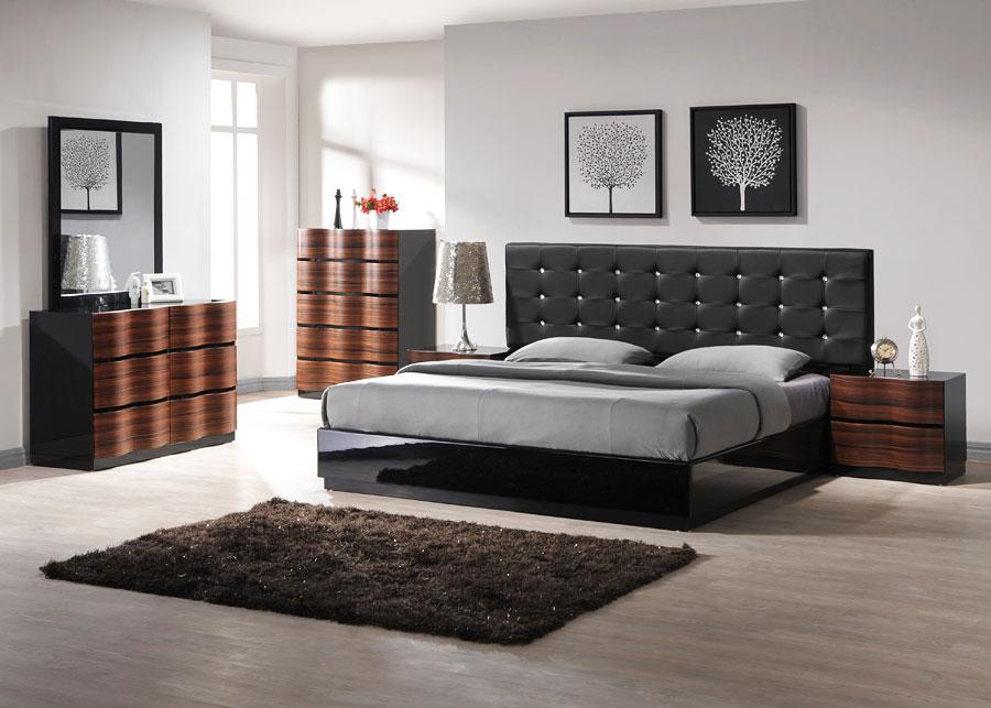Простой дизайн интерьера спальни