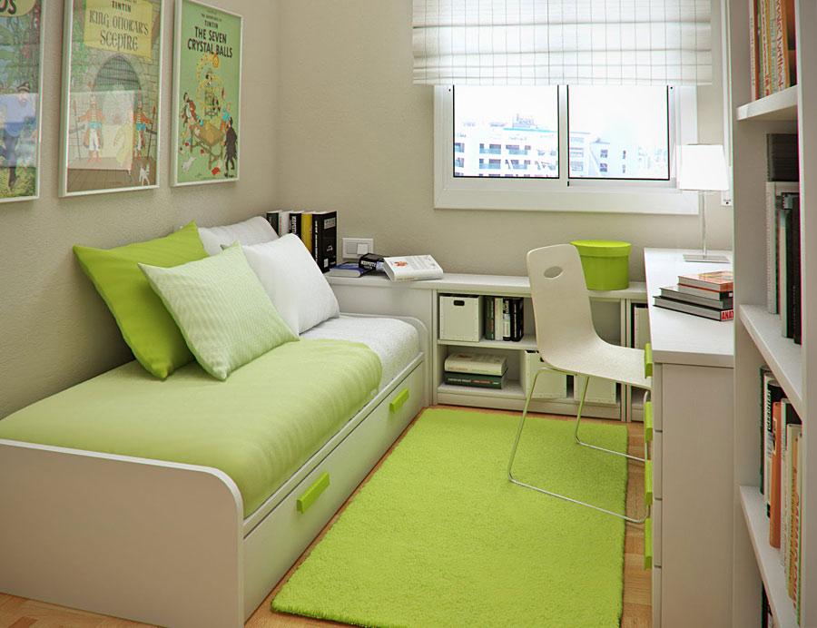 Как грамотно организовать пространство маленькой комнаты?....
