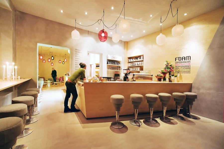 Дизайн интерьера молодежного кафе