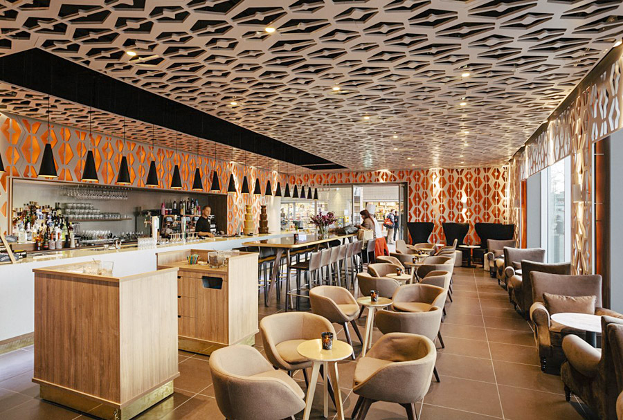 Дизайн интерьера кафе в стиле ретро