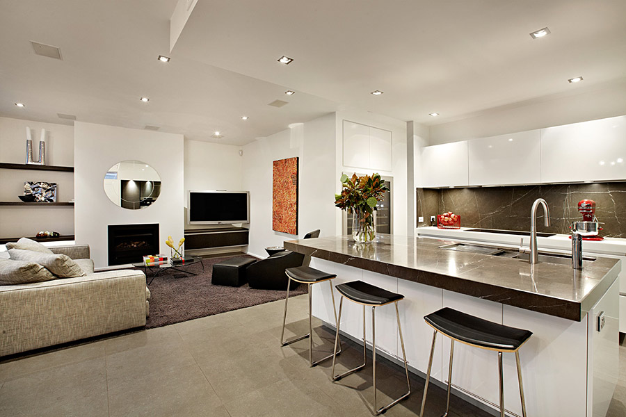 - Photos of open kitchen living room designs ...
