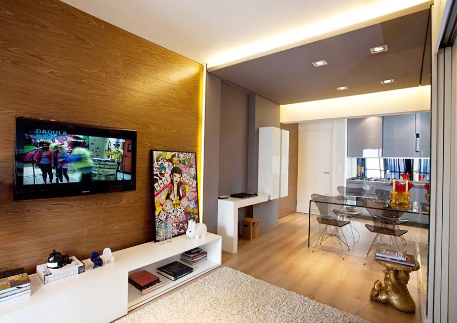 Дизайн интерьера малогабаритных квартир: совмещенная гостиная-кухня
