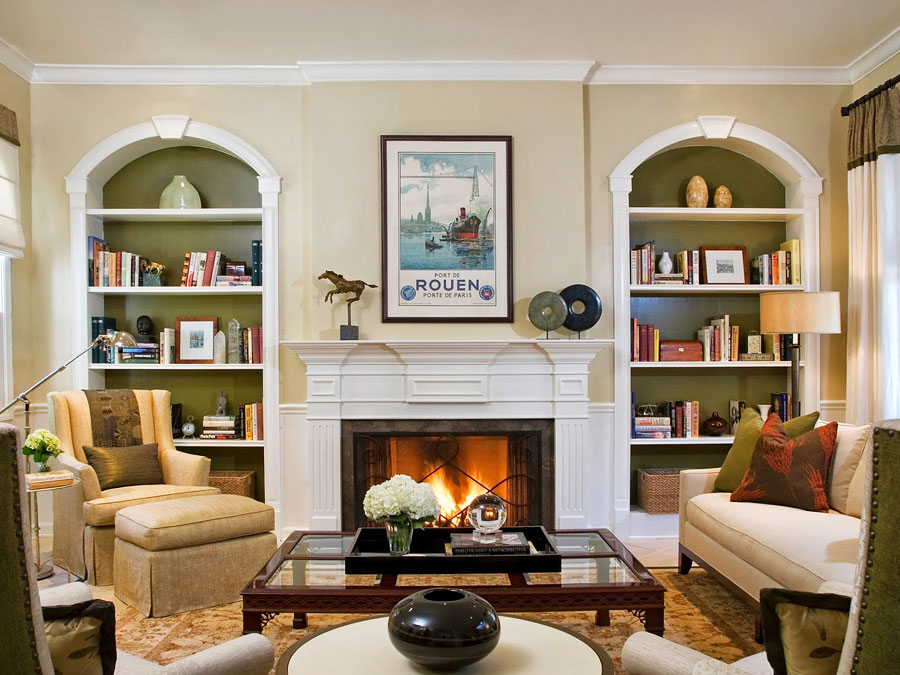 for American country style interior design