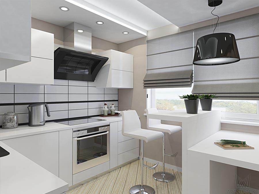 фото перегородок кухня-гостиная