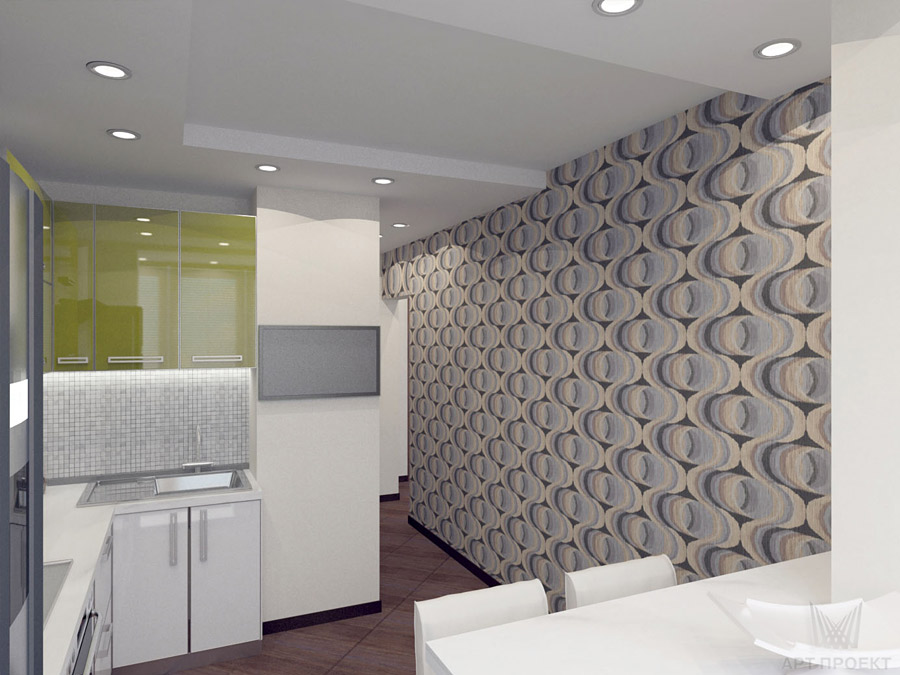 Кухня для холостяка дизайн